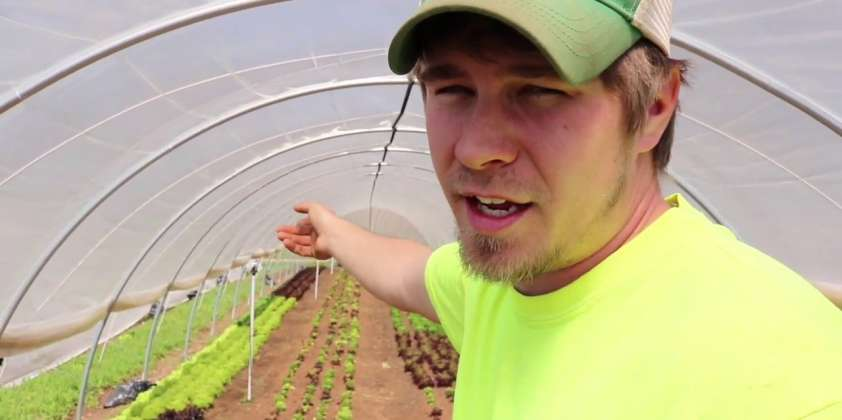 Growing Year Round in Caterpillar Tunnels